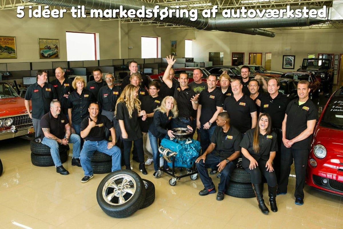 5 idéer til markedsføring af autoværksted